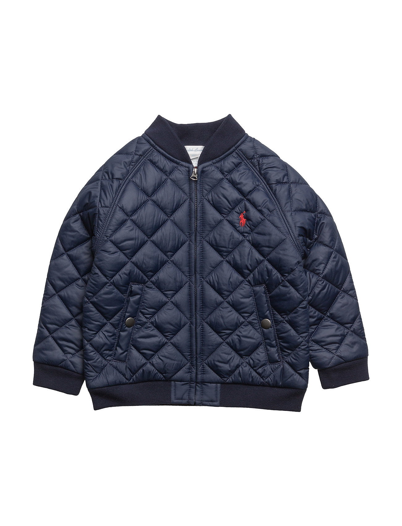 Quilted Baseball Jacket (French Navy) (£89) - Ralph Lauren Baby ...
