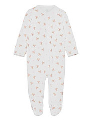 Polo Bear Coverall - WHITE/PINK/MULTI