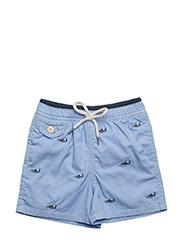 Traveler Cotton-Blend Trunk - BSR BLUE