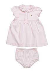 Pima Cotton Dress & Bloomer - DELICATE PINK