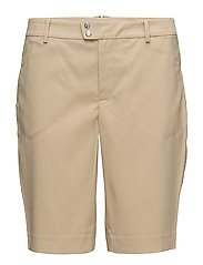 STRCH WICKING POLY-SHO - POLO TAN