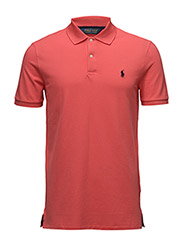 SS KC PF SPP-SHORT SLEEVE-KNIT - CORAL GLOW