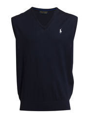 V-NECK VEST - FRENCH NAVY