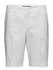 STRETCH COTTON SHORT - PURE WHITE