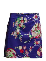 ALLEGRA SKORT - PURPLE FLORAL K