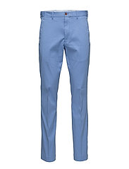 TAILORED FIT STRETCH PANT - CABANA BLUE