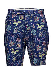 LTWT STRCH POLY-TAILORFIT GOLF SHOR - MILL REEF FLORAL