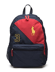 BANNER STRIPE 3 BACKPACK - NAVY/RED/GOLD