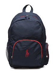 CAMPUS BACKPACK - NAVY/RED
