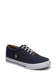 VAUGHN II - NAVY CANVAS W/YELLOW PP