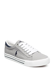 HARRISON - COOL GREY CANVAS-NAVY