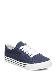 HARRISON - NAVY CANVAS-GREEN
