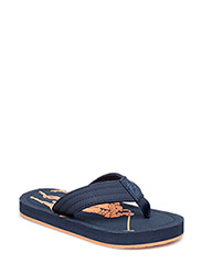 THEO BIG PONY - NAVY EVA W ORANGE BIG PONY