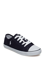 DYLAND - NAVY CANVAS W/WHITE PP