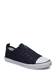 RYLAND - NAVY CANVAS W/GREEN PP