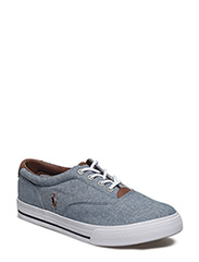 VAUGHN II - BLUE CHAMBRAY W/MULTI PP