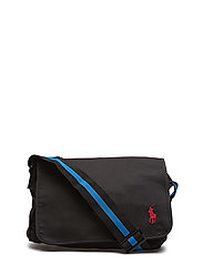 POLO MESSENGER - BLACK/ROYAL RED PP
