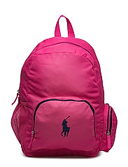 Campus Backpack - BAJA PINK NYLON W NAVY
