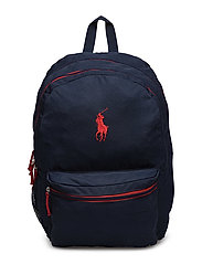Ever Backpack - NAVY NYLON W RED