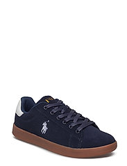 QUINCEY COURT - NAVY SUEDE W/PAPER WHITE PP-GUM