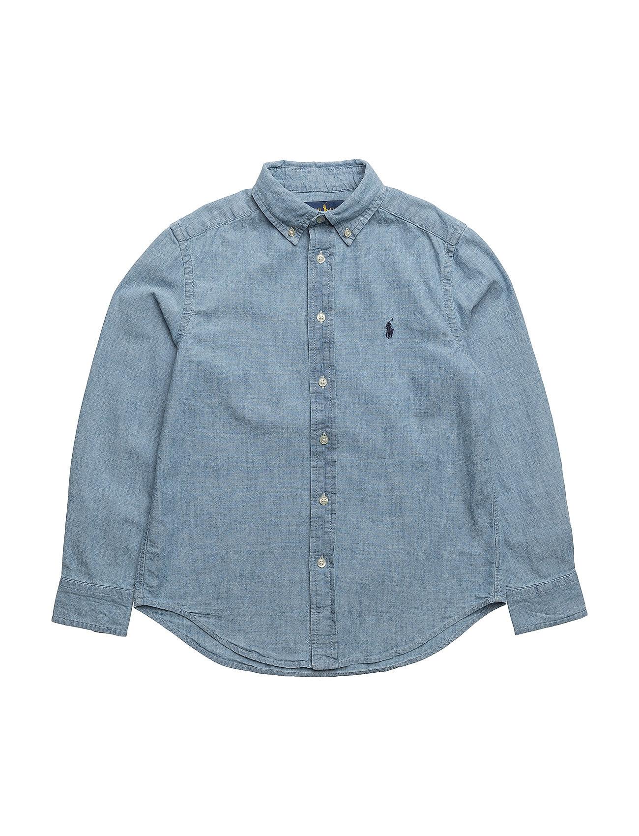 Chambray shirt light blue 699 kr ralph lauren kids for Chambray shirt for kids
