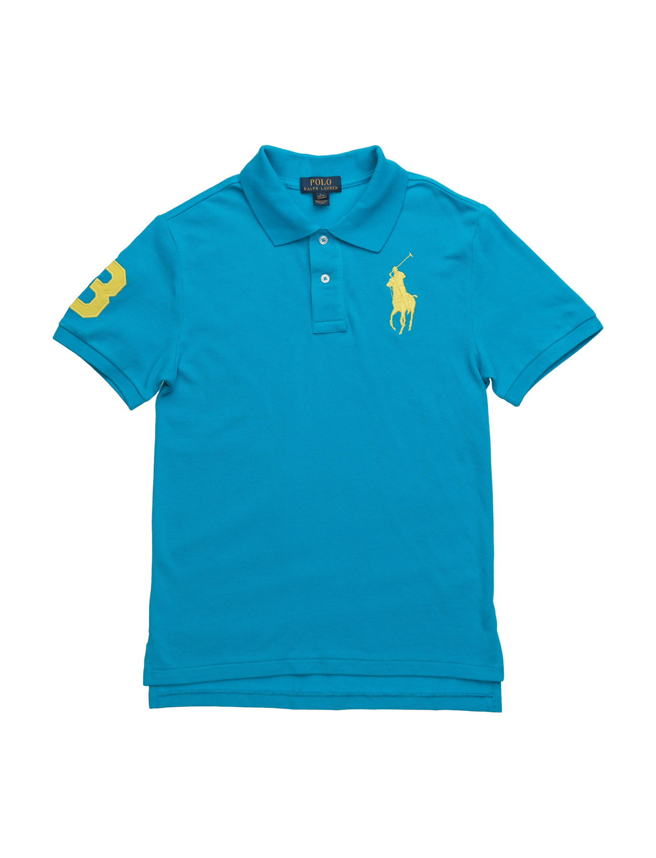 Custom fit mesh polo hawaiian ocean kr ralph for Personalized polo shirts for toddlers