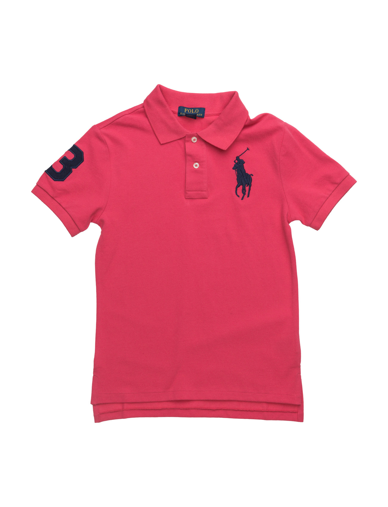 Custom fit mesh polo tropic pink kr ralph for Personalized polo shirts for toddlers