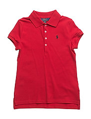COTTON MESH-SS POLO SHRT-TP-KNT - RL2000 RED