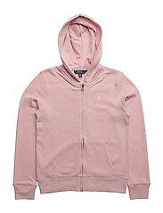 French Terry Full-Zip Hoodie - PETAL