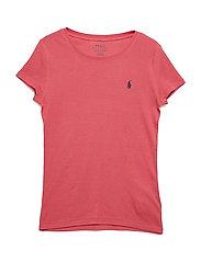 Cotton-Blend Crewneck T-Shirt - NANTUCKET RED