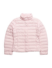 Quilted Down Jacket - HINT OF PINK