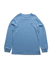 Cotton Jersey Crewneck Tee - CHATHAM BLUE