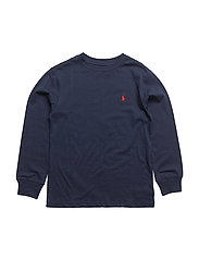 Cotton Jersey Crewneck Tee - NEWPORT NAVY