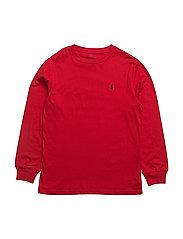 Cotton Jersey Crewneck Tee - RL 2000 RED