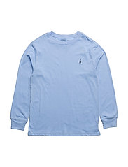 Cotton Jersey Crewneck T-Shirt - AUSTIN BLUE