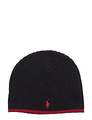 Ribbed Merino Wool Beanie - HUNTER NAVY