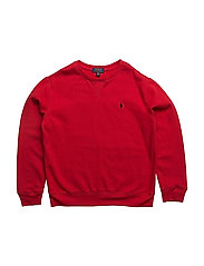 Cotton-Blend-Fleece Sweatshirt - RL 2000 RED