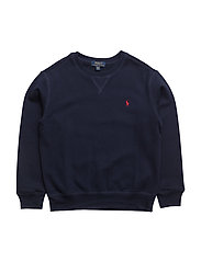 Cotton-Blend-Fleece Sweatshirt - CRUISE NAVY