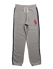 Cotton French Terry Pant - ANDOVER HEATHER