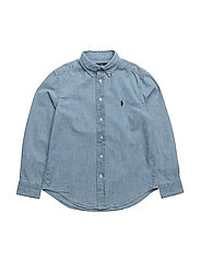 Chambray Shirt - LIGHT BLUE