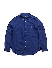 Cotton Oxford Sport Shirt - ROYAL AMERICAN