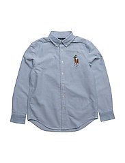Cotton Oxford Sport Shirt - BSR BLUE