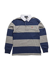 Cotton Jersey Rugby Shirt - FRESHWATER MULTI