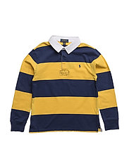 Cotton Jersey Rugby Shirt - MOUNTAIN GOLD MULTI