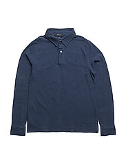 FEATHERWEIGHT MESH-LS CS-TP-KNT - RUSTIC NAVY HEATHER
