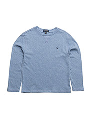 Cotton Spa Terry Pullover - JAMAICA BLUE HEATHER