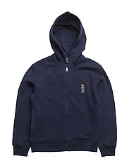COLLECTION FLEECE-BEAR HOODIE-TP-KN - NEWPORT NAVY