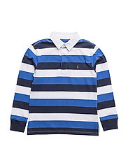 Striped Cotton Jersey Rugby - NEW IRIS