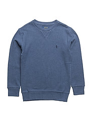 Long Sleeve Crewneck - DERBY BLUE HEATHE