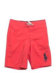 Sanibel Twill Swim Trunk - DEEP ORANGEY RED